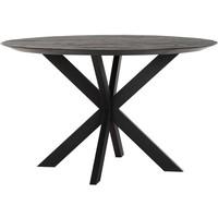 thumb-Eettafel Timeless Black Shape rond, 2 maten-1