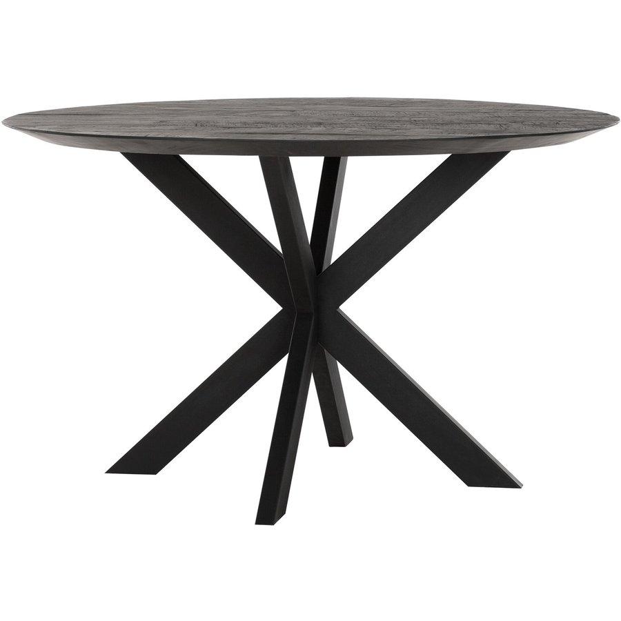 Eettafel Timeless Black Shape rond, 2 maten-1