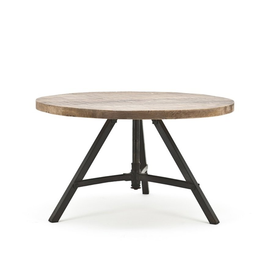 By- Boo Salontafel Discus rond mangohout-2
