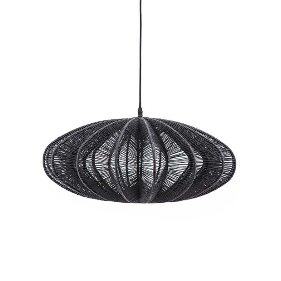 By-Boo Hanglamp Nimbus in zwart of naturel-1