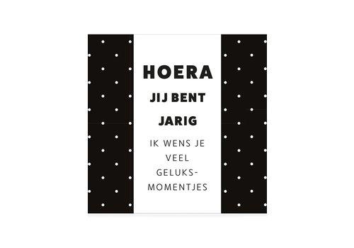 CHOCOLADEWENS • HOERA JIJ BENT JARIG