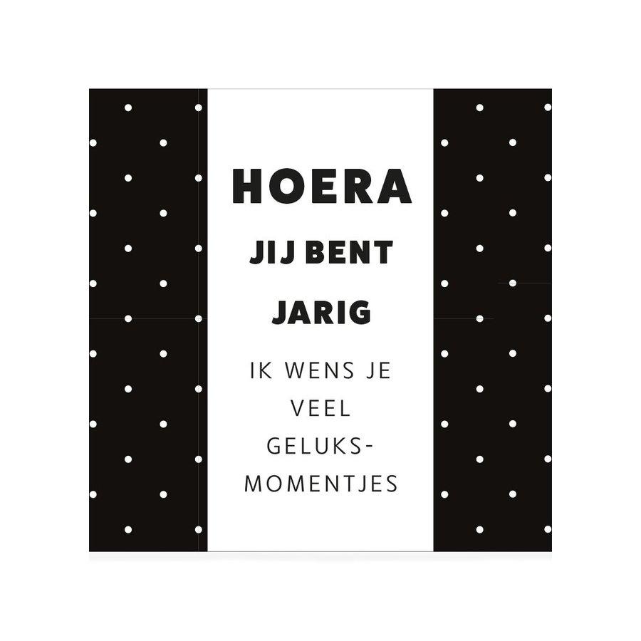 CHOCOLADEWENS • HOERA JIJ BENT JARIG-1