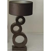 thumb-Tafellamp Circle 3 ringen Keramiek-1