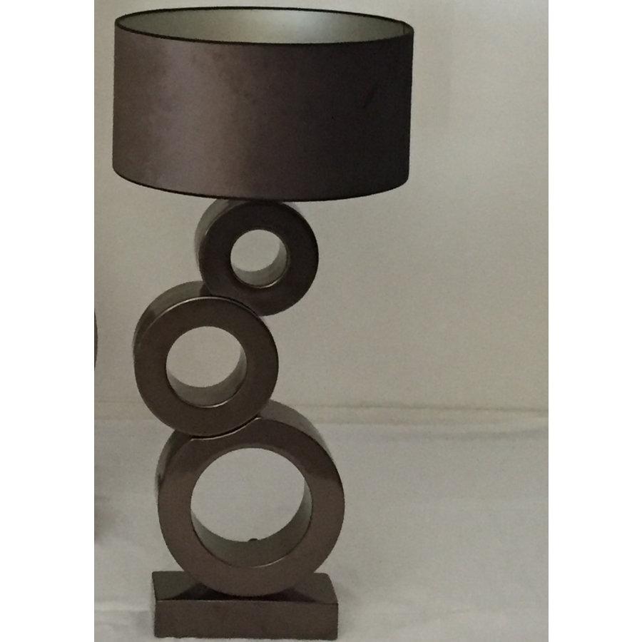 Tafellamp Circle 3 ringen Keramiek-1