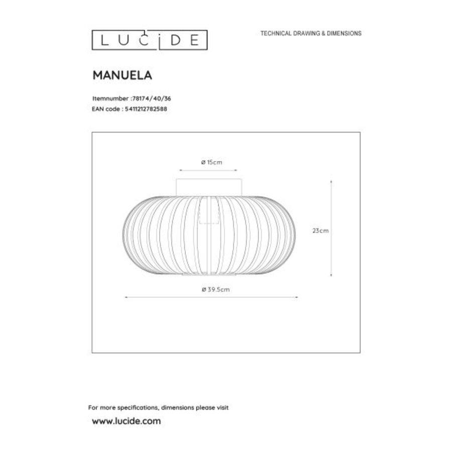 Lucide Plafonnière MANUELA-5