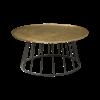Tower Living Ronde salontafel /bijzettafel Renew metaal brons in 2 maten