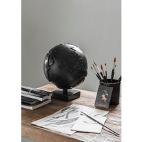 thumb-Must Living Wereldbol hout naturel of zwart-3