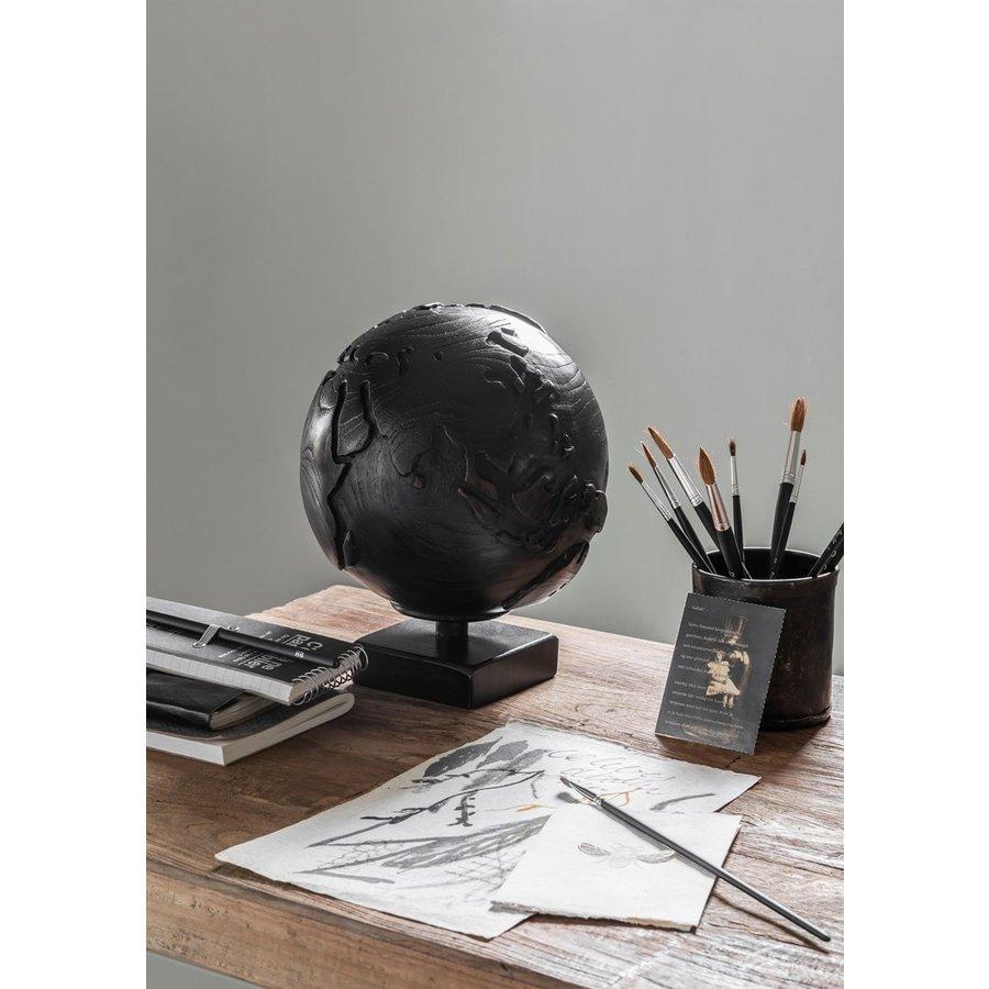 Must Living Wereldbol hout naturel of zwart-3