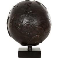 thumb-Must Living Wereldbol hout naturel of zwart-2