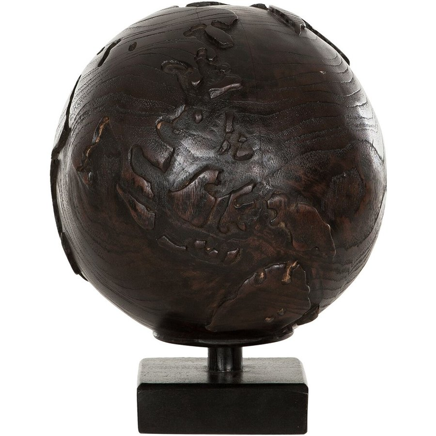 Must Living Wereldbol hout naturel of zwart-2