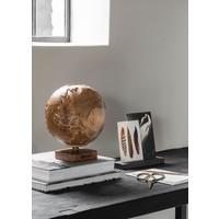 thumb-Must Living Wereldbol hout naturel of zwart-4