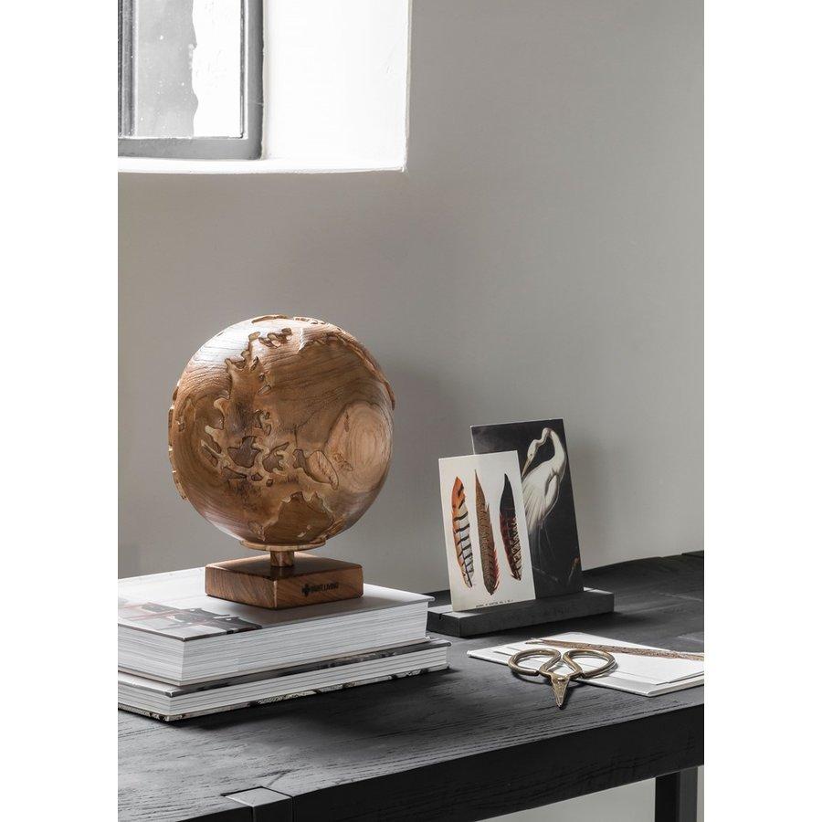Must Living Wereldbol hout naturel of zwart-4