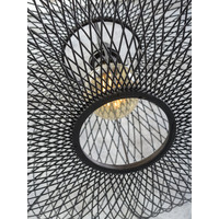 thumb-Hanglamp CANGO bamboe naturel of zwart-6