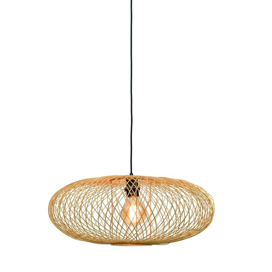 Hanglamp CANGO bamboe naturel of zwart-2