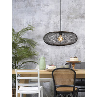 thumb-Hanglamp CANGO bamboe naturel of zwart-4