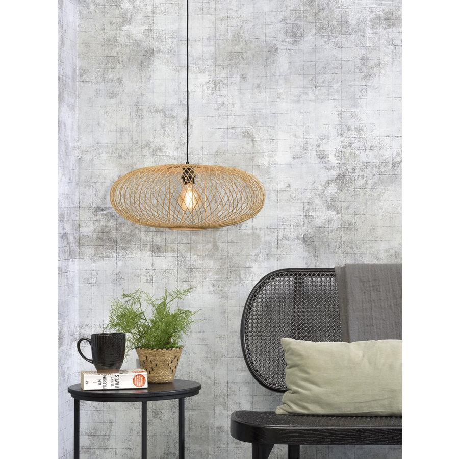 Hanglamp CANGO bamboe naturel of zwart-3