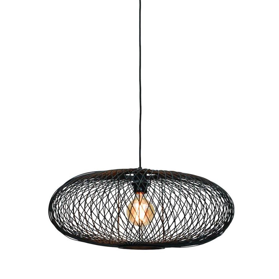 Hanglamp CANGO bamboe naturel of zwart-1
