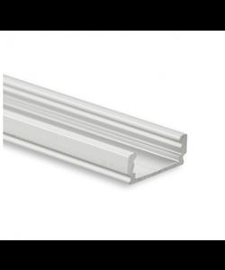 LED profiel 2 meter inclusief afdekking 01ALU