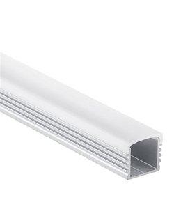 LED profiel 2 meter inclusief afdekking  05.1ALU