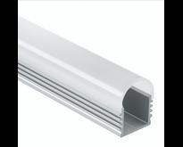 LED profiel 2 meter met afdekking 12mm – 05.1ALU