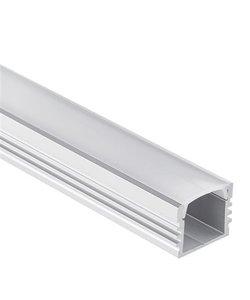 LED profiel 2 meter inclusief afdekking 02ALU