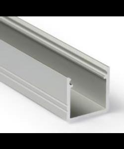 LED profiel 2 meter inclusief afdekking SLIM02ALU