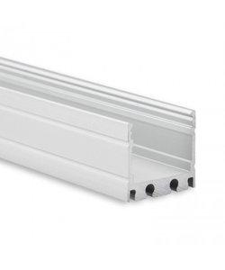 LED profiel 2 meter inclusief afdekking 18ALU