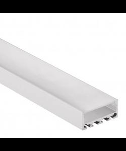 LED XL profiel 2 meter inclusief afdekking 24mm – XL04.C1ALU