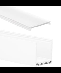 LED XL profiel 2 meter inclusief afdekking 24mm – XL06.C1WIT