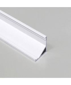 LED hoekprofiel 2 meter inclusief afdekking – C12WIT