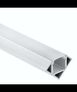 LED hoekprofiel 2 meter inclusief afdekking – 23ALU
