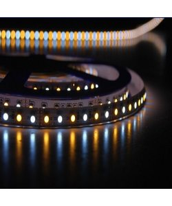 LED strip dual white 11W 509lm/meter 24VDC IP20 5 meter