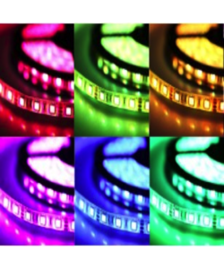 LED strip RGB 14,4W 850lm/meter 24VDC IP20 5 meter