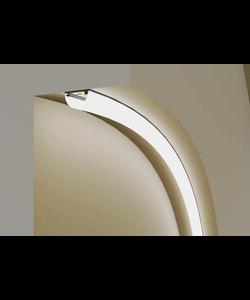 Buigbaar LED profiel 2 meter – F12ZWART