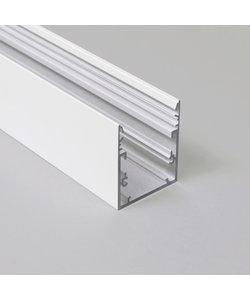 LED profiel 2 meter met afdekking XL53WIT