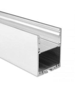 LED profiel 2 meter met afdekking XL40ALU – 40mm
