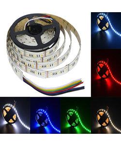 LED strip 60×5050 LED 22,5 W 1020 lm/meter 24VDC IP20 RGBCCT 5m rol
