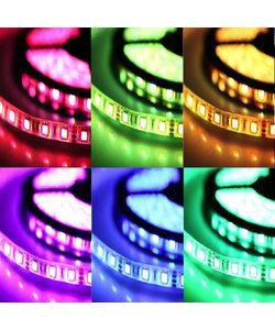 LED strip 60×5050 LED 19,2 W 1400 lm/meter 12VDC IP33 RGBW 5m rol
