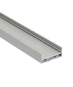 LED profiel 2 meter met lage afdekking 31mm – XL10ALU