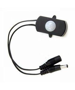 Regelbare PIR sensor voor LED verlichting - zwart
