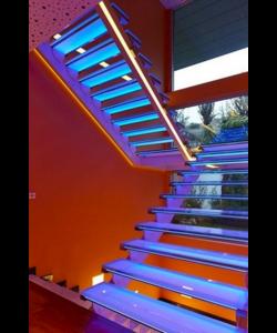 LED traptrede verlichting multi color