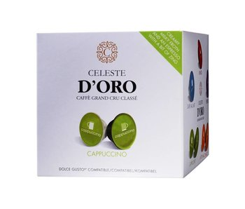 Celeste d'Oro - Cappuccino - Cups voor Dolce Gusto®