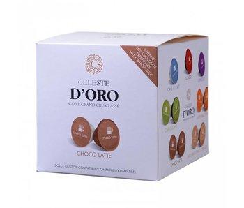 Celeste d'Oro - Choco Latte - Capsules pour Dolce Gusto®