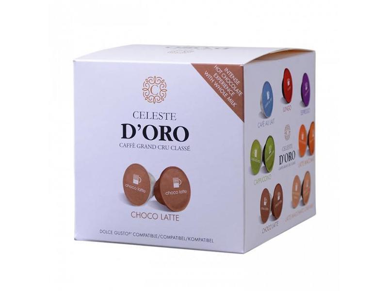 Celeste d'Oro Celeste d'Oro - Choco Latte - Capsules pour Dolce Gusto®