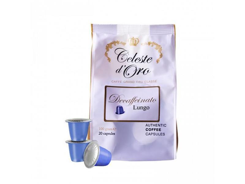 Celeste d'Oro Celeste d'Oro - Decaffeinato (Lungo) - Cápsulas para a Nespresso®