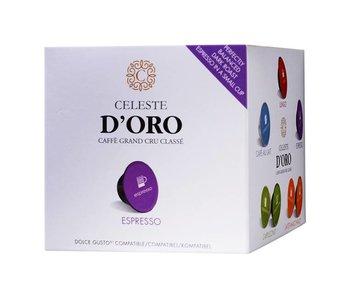 Celeste d'Oro - Espresso - Capsules pour Dolce Gusto®
