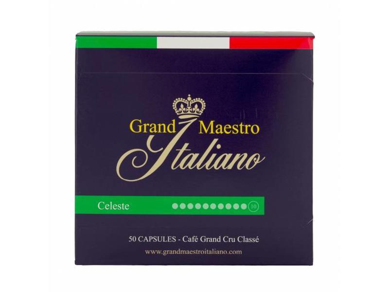 Grand Maestro Italiano Grand Maestro Italiano - Celeste - Cups voor Nespresso®