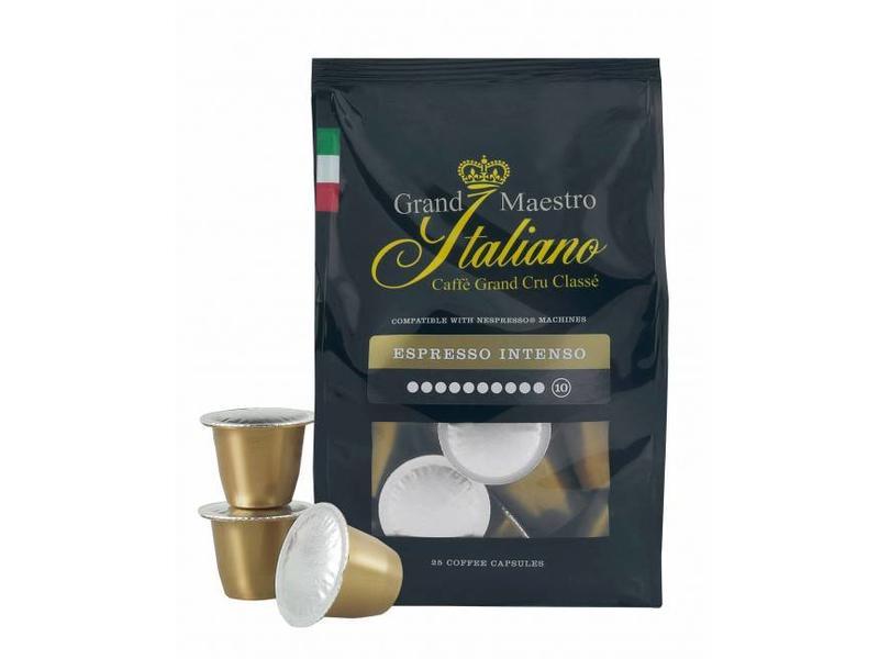 Gran Maestro Italian Grand Maestro Italiano - Espresso Intenso - Cápsulas para Nespresso®