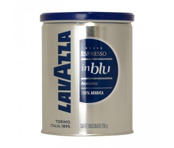 Lavazza - In Blu Tin - Gemalen koffie