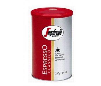 Segafredo - Classico blik - Gemalen koffie